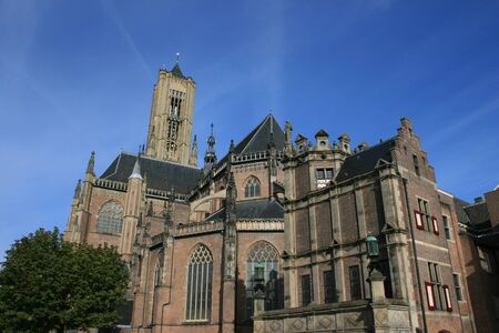 the netherlands: Eusebius Church in Arnhem, The Netherlands.