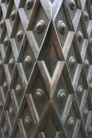 ironworks: Metal wall texture