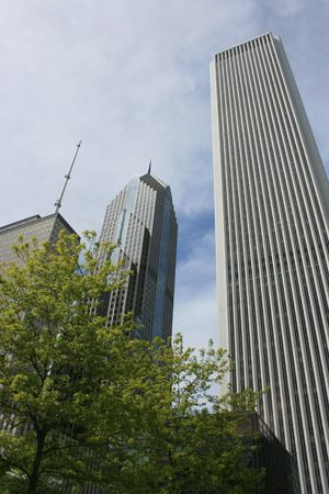 aon: Chicago architecture including the Aon Center