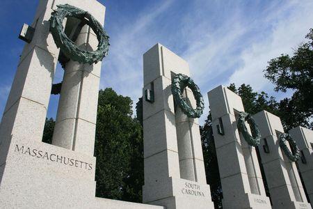 world war two: World War Two Memorial, Washington D.C.