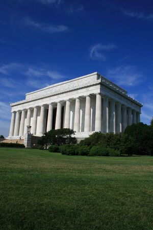 Exterior of the Lincoln Memorial photo