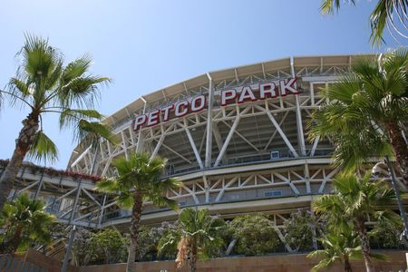 San Diego, California, USA - July, 22nd, 2009 - Outside of Petco Park. Editorial