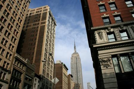 Manhattan views along Fifth Avenue.