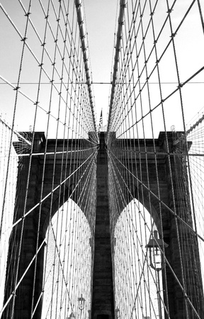 The Brooklyn Bridge Imagens