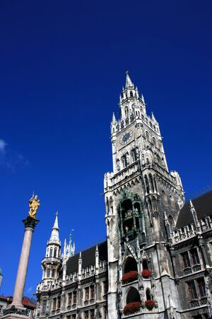 Old Town Hall of Munich, Germany.