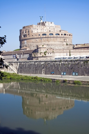 Ancient Fortress and Jail SantAngelo in Rome, Italy