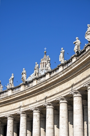 vatican city: The Basilica of St. Peters in Rome, Italy