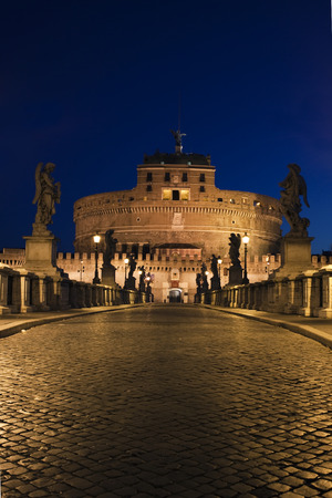angelo: The bridge of the Angels, Castel SantAngelo, Rome, Italy