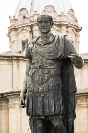 absolutism: Statue of emperator Julius Caesar in Rome, Italy