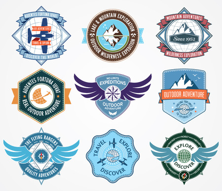 badge vector: Vector badge for any use