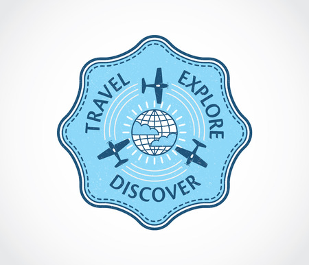 aeronautic: Vector badge for any use