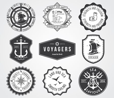 Vector badges for any use Vector