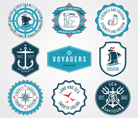 amity: Vector badges for any use