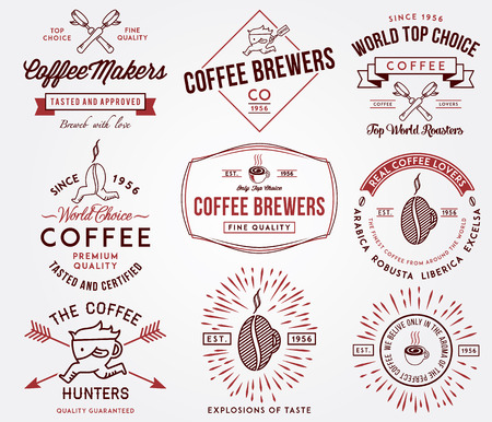 brewers: Vector badges for any use