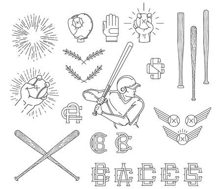 beisbol: Haz Vector béisbol para cualquier uso