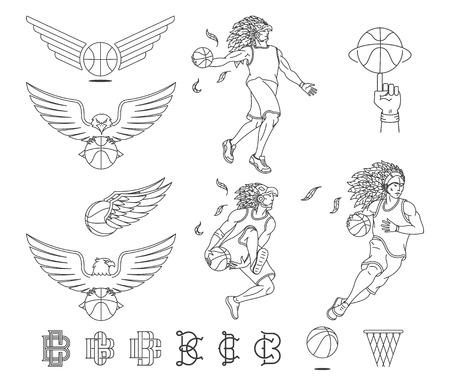 Basketball sport bundle for any use