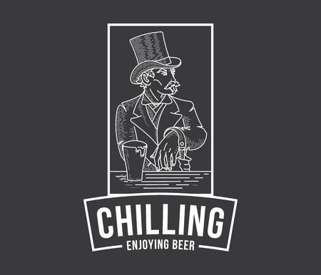 artisan: Gentlemen enjoying artisan homemade beer
