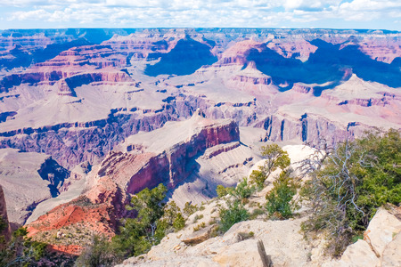 mesas: Beautiful view of Grand Canyon National Park ,South Rim in Arizona, United States