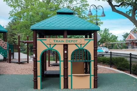 Playground Kid Stock Photo