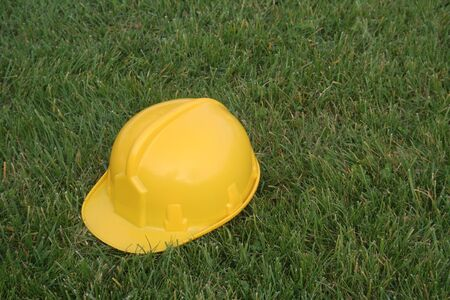 Yellow safety hat Stock Photo - 432879