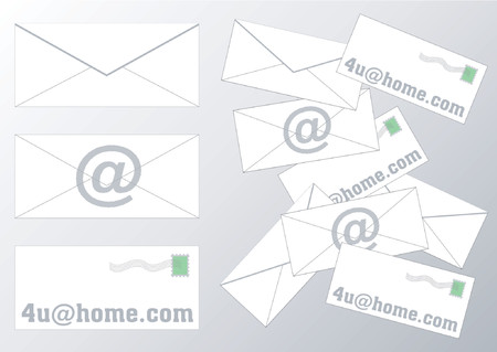 vacation home: Envelopes