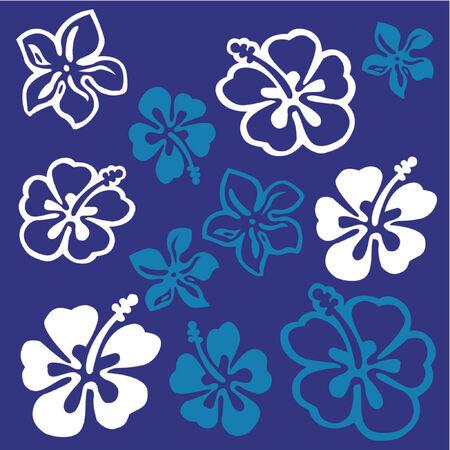 원예: Flower pattern 일러스트