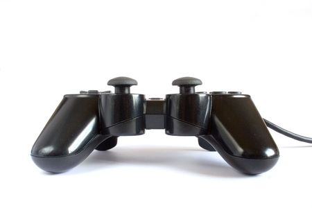 Gamepad in white background Stock Photo