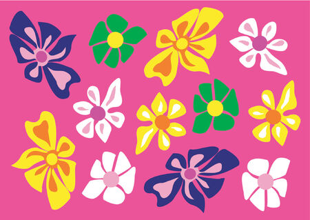 Flower pattern Stock Vector - 456668
