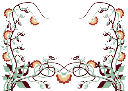 Flower pattern Stock Vector - 489057