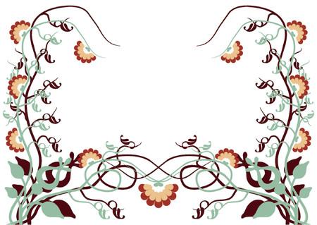 Flower pattern Stock Vector - 489057