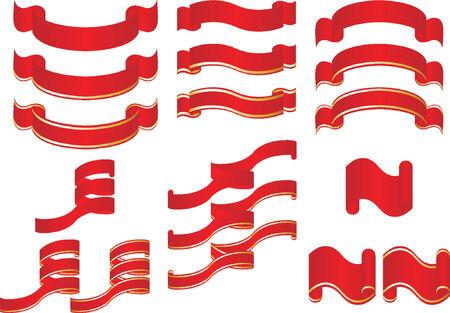 Ornamental ribbons Stock Vector - 510809
