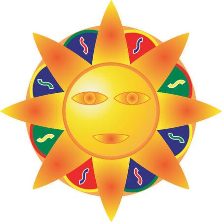 Sun Stock Vector - 532474