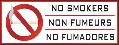 No smoking sign Stock Vector - 536001