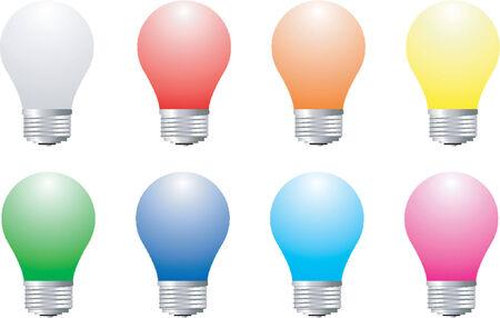 Lightbulbs Stock Vector - 535997