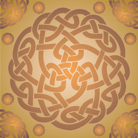 Celtic pattern_Abstract pattern Vector