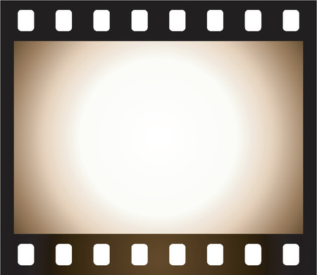 Old negative frame Vector
