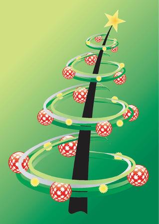 Christmas theme Christmas tree Stock Vector - 568314
