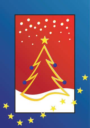 Christmas theme Christmas tree Stock Vector - 568311