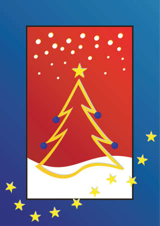Natale tema albero di Natale Archivio Fotografico - 568311