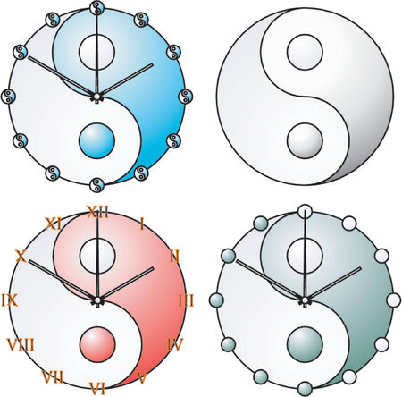 yinyang: Symbole de Yin Yang Illustration