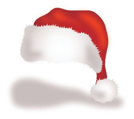 Santas cap Illustration