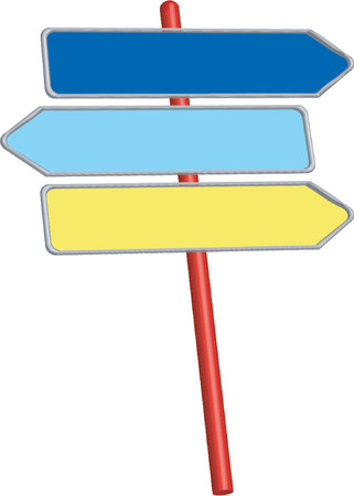 Road signs_Information signs_Direction signs Vector