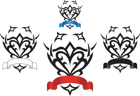 Artist logo_Arms_Tribal Vector