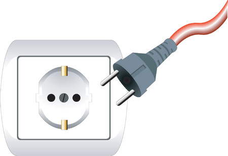 disconnected: Electric plug