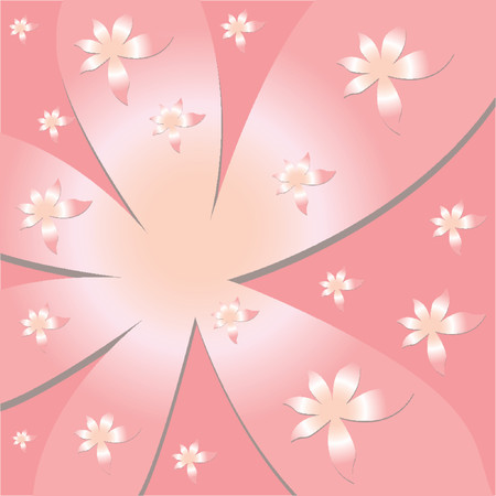 Vectorial flower pattern - Ornamental pattern Vector