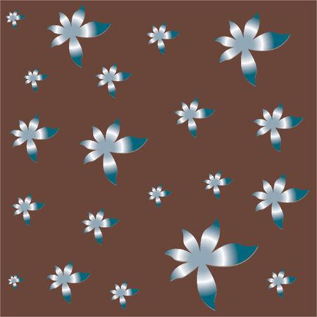 Vectorial flower pattern - Ornamental pattern Vector
