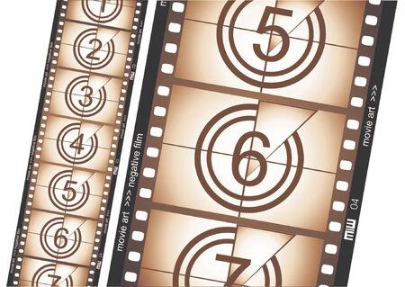 esporre: Vecchi film striscia negativa