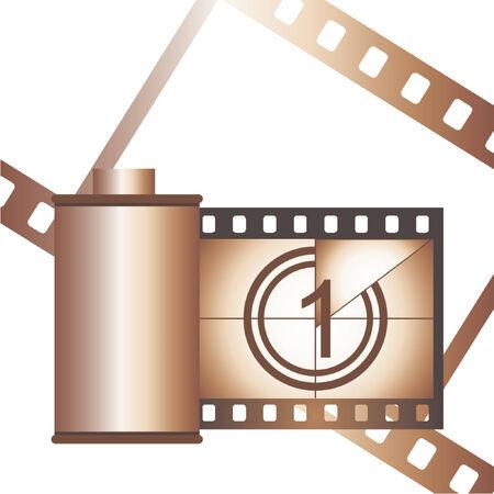 esporre: Contenitore con striscia di pellicola