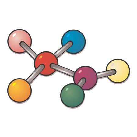 Molecule Stock Vector - 667217