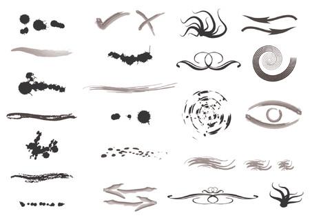different shapes: Abstract modelli con diverse forme e colori